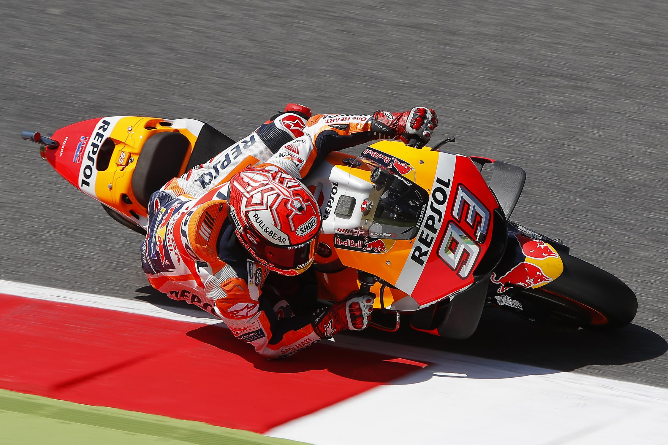 MOTO GP Grand Prix d'Espagne – Jerez  5 mai 2019  Marc-marquez-mugello-corner-motogp-2018