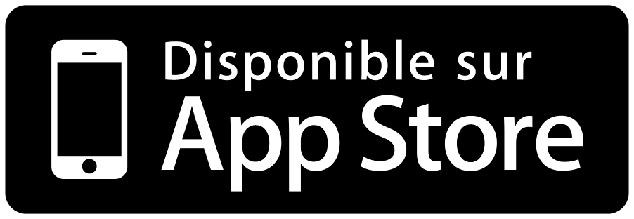 Disponible sur Apple App Store