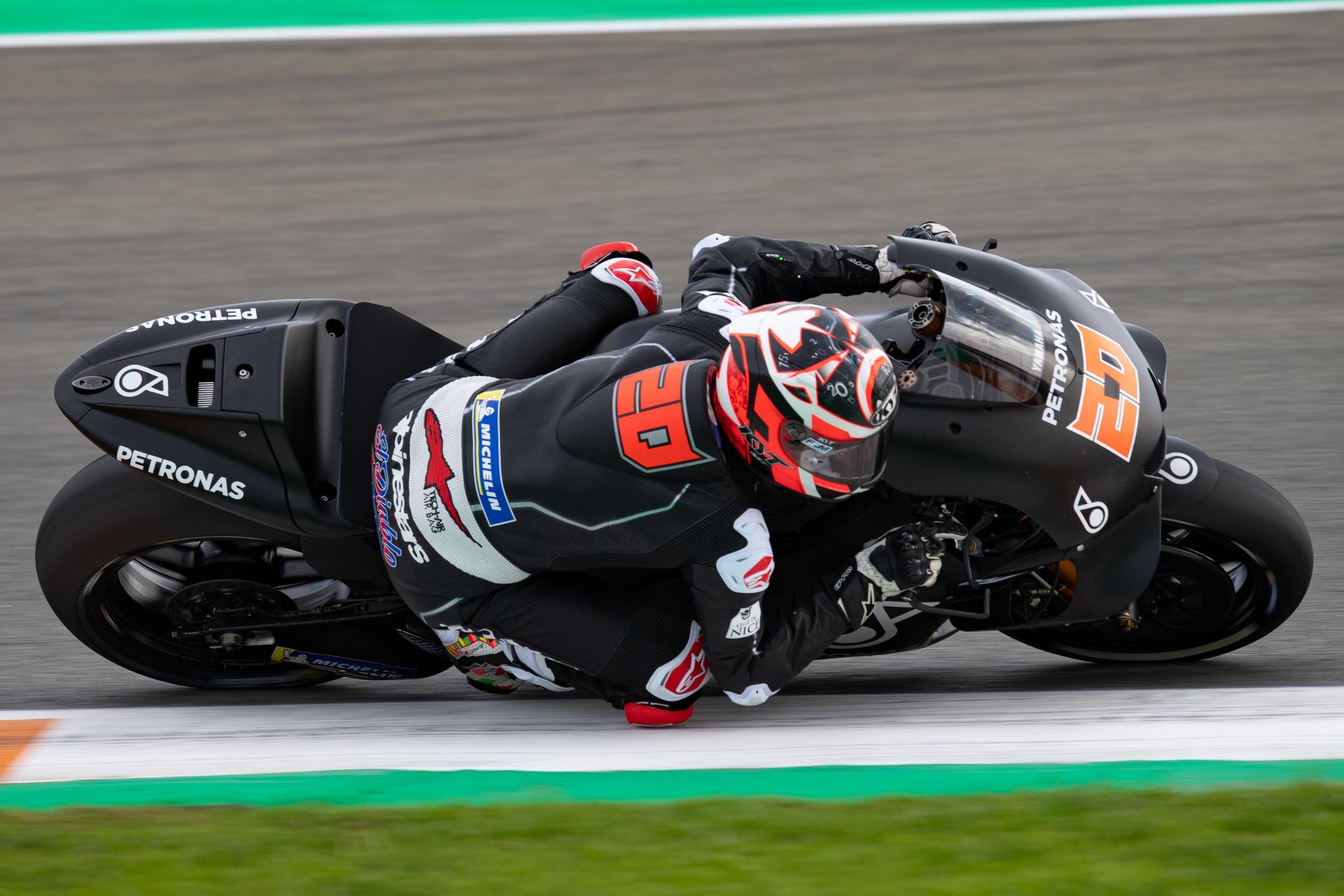 MOTO GP 2019 COMPÉTITIONS Fabio-quartararo-valencia-test-j2-motogp-2018