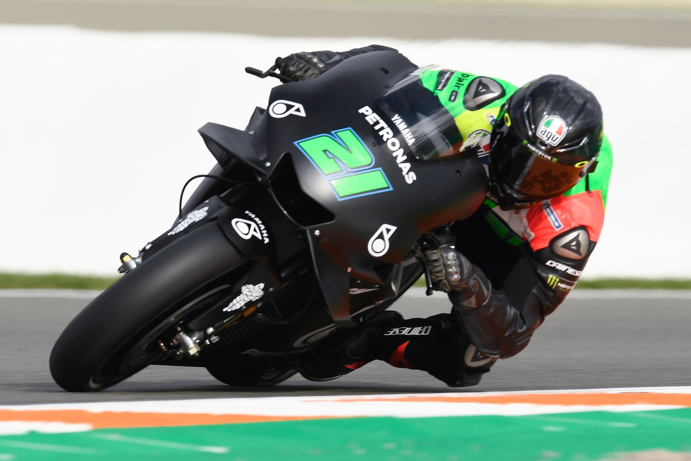 MOTO GP 2019 COMPÉTITIONS Franco-morbidelli-valencia-test-motogp-2018