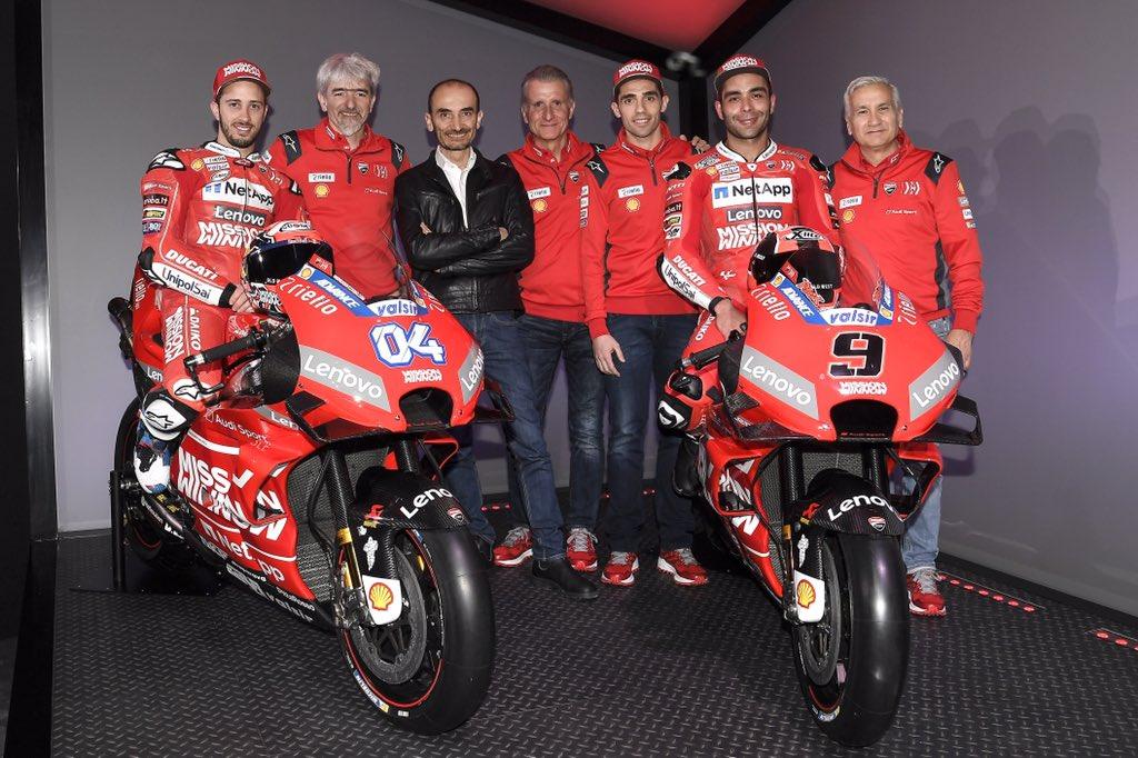 MOTO GP TESTS 2019 Ducati-janv19