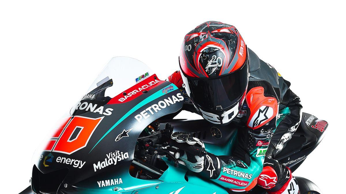 MOTO GP -GRAND PRIX DE FRANCE DU 17 AU 19 MAI 2019 Fabio-quartararo-presentation-motogp-yamaha-petronas-2019.-2jpg