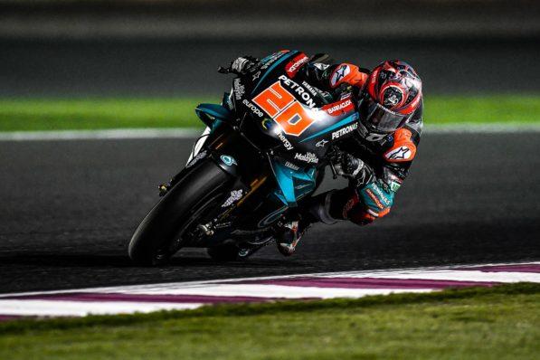 MOTO GP- Grand Prix du Qatar – Losail-10 mars 2019 Fabio-quartararo-qatar-test-motogp-2019-597x398