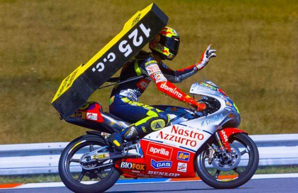 MOTO GP- Grand Prix du Qatar – Losail-10 mars 2019 Valentino-rossi-125-1997-titre-600x390