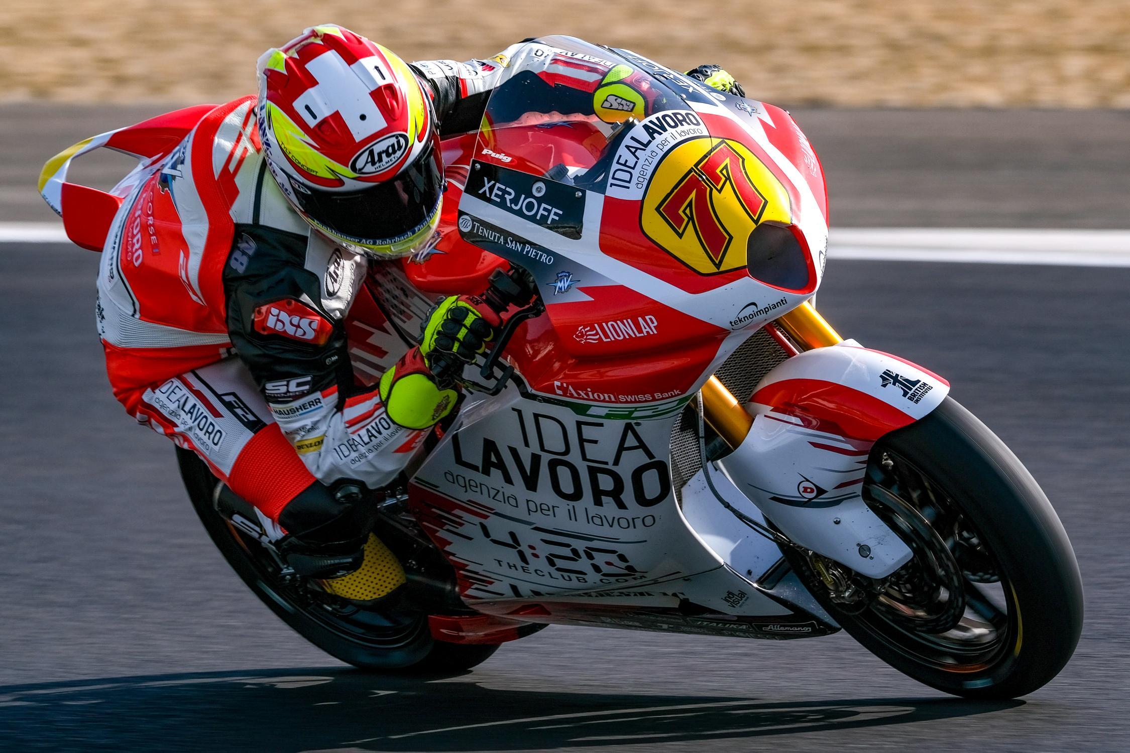 MOTO GP Grand Prix d'Espagne – Jerez  5 mai 2019  Dominique-aegerter-jerez-test-moto2-2019