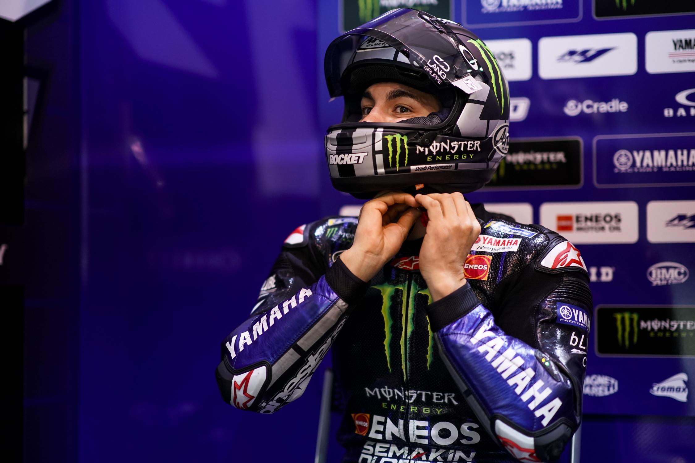 MOTO GP- Grand Prix du Qatar – Losail-10 mars 2019 Maverick-vinales-qatar-box-motogp-2019-test
