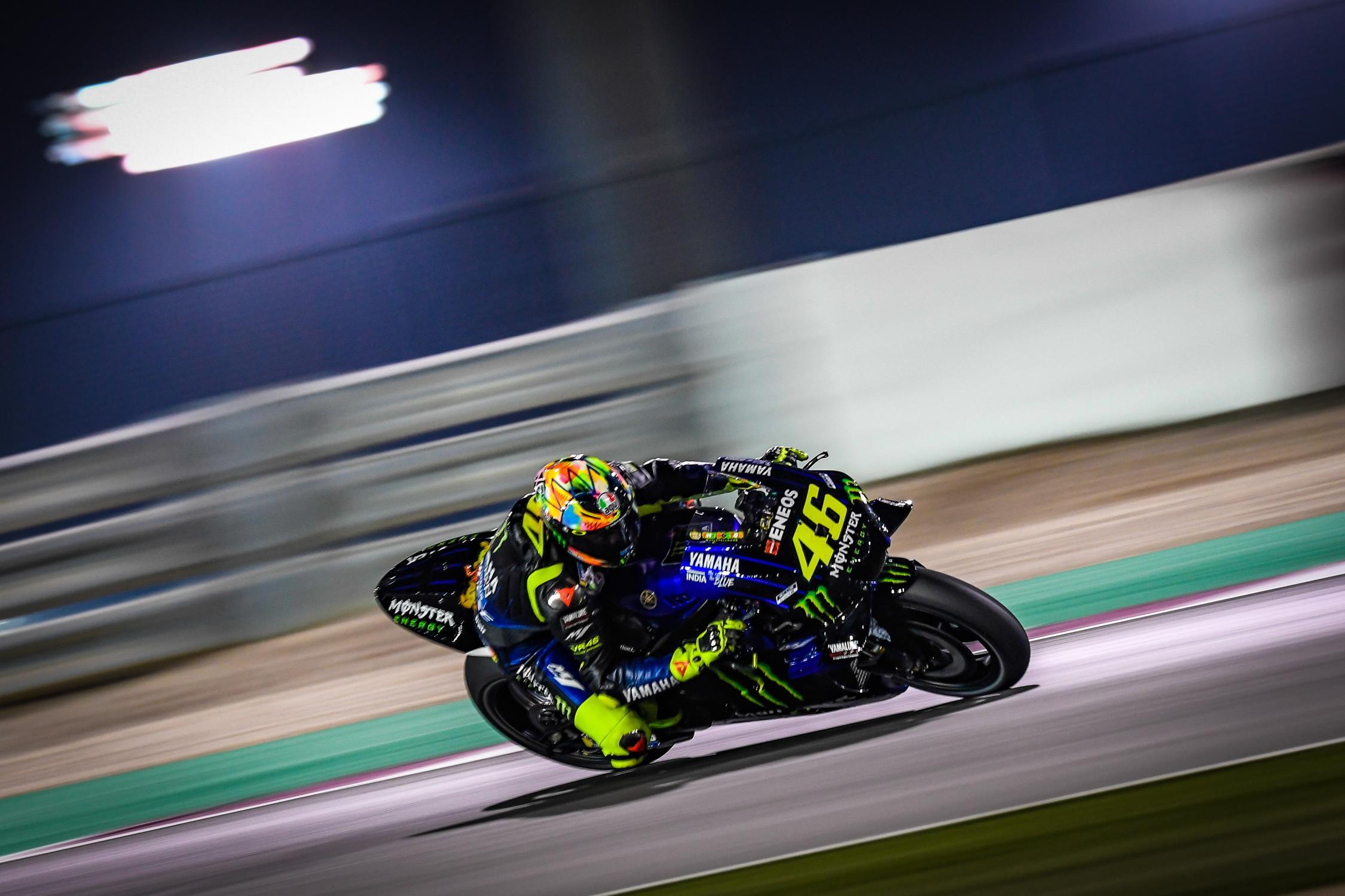 MOTO GP- Grand Prix du Qatar – Losail-10 mars 2019 Valentino-rossi-qatar-motogp-test-2019-speed