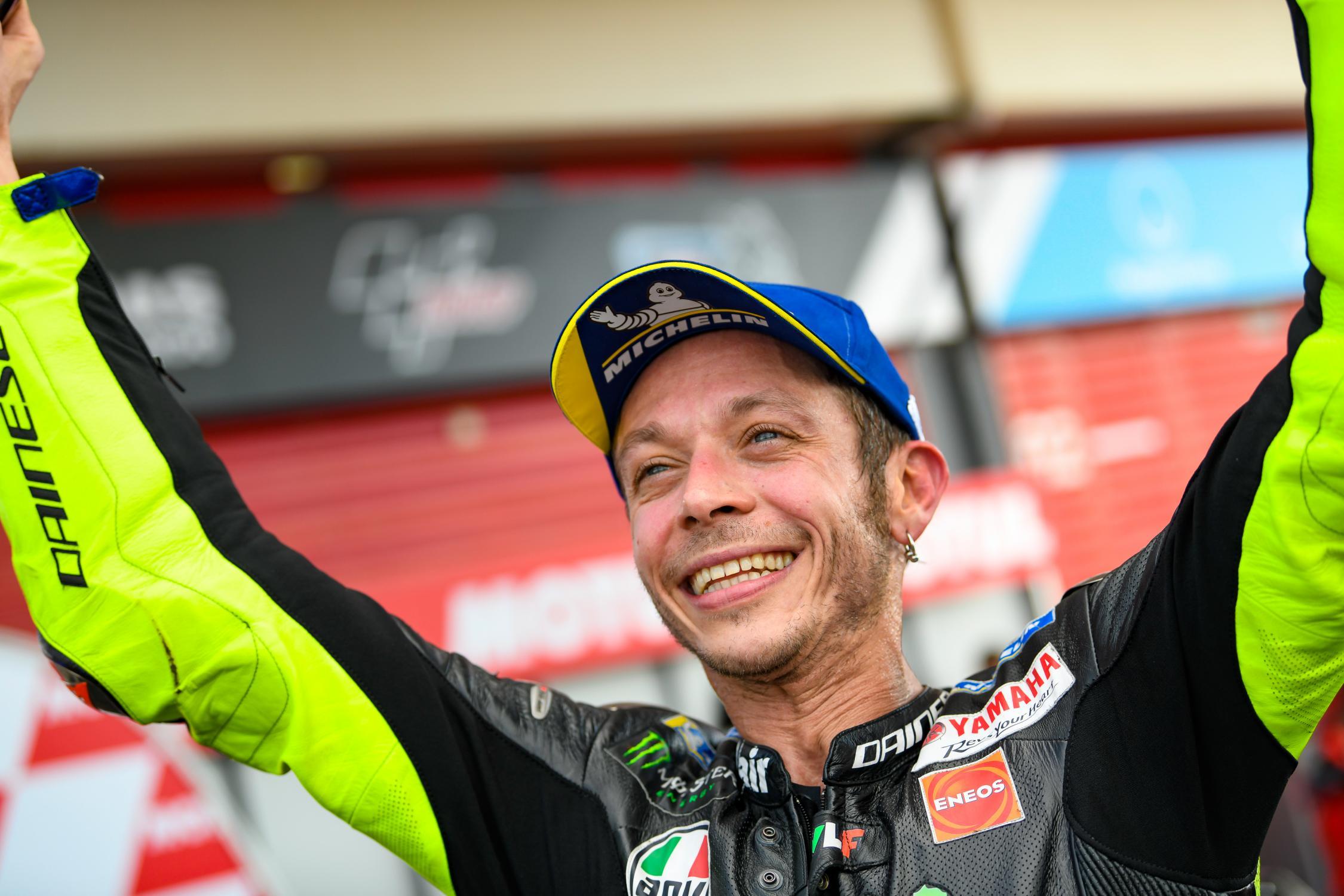 MOTO GP -GRAND PRIX DE FRANCE DU 17 AU 19 MAI 2019 Valentino-rossi-podium-argentine-motogp-2019