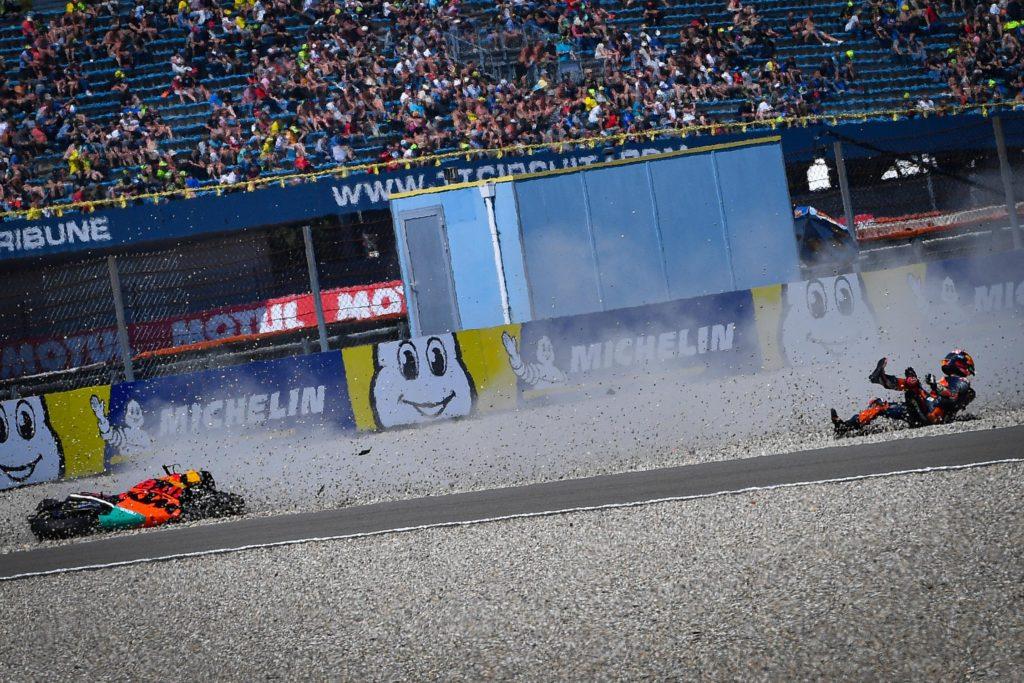 MOTO GP : GRAND PRIX DES PAYS BAS ASSEN DU 28 AU 30 JUIN 2019 Johann-zarco-crash-assen-motogp-2019-1024x683