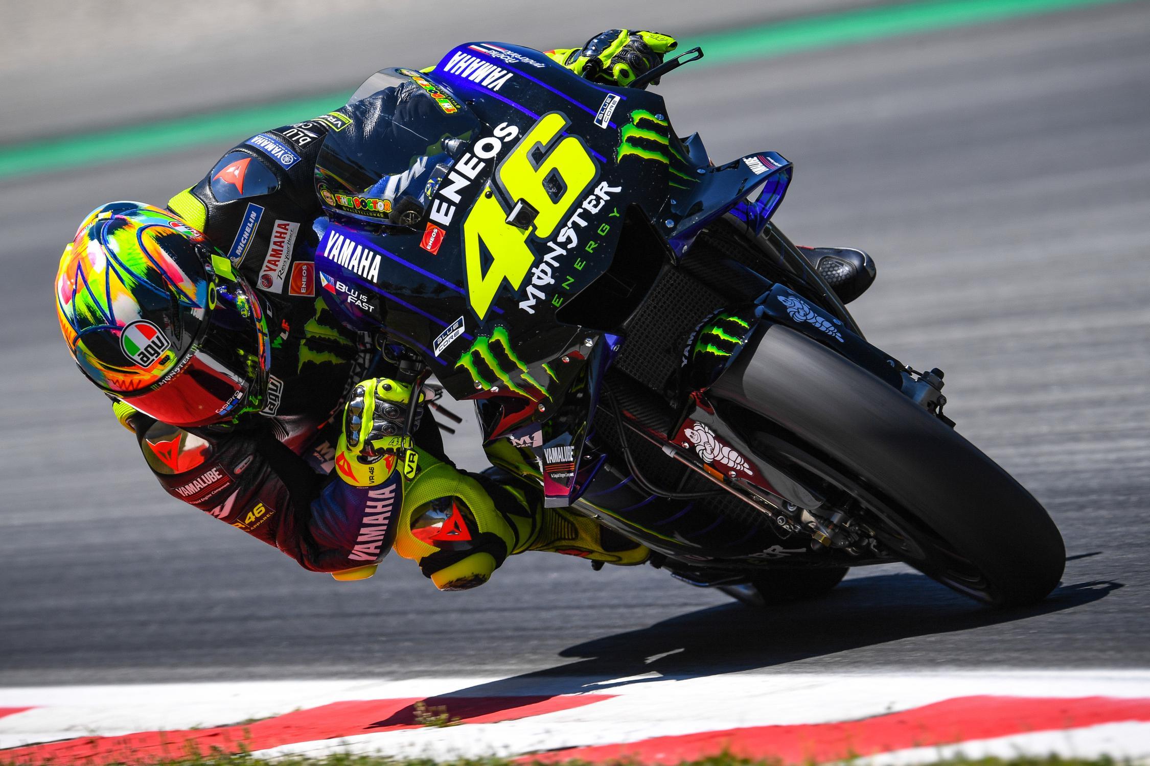 MOTO GP : GRAND PRIX DES PAYS BAS ASSEN DU 28 AU 30 JUIN 2019 Valentino-rossi-barcelone-motogp-test-2019