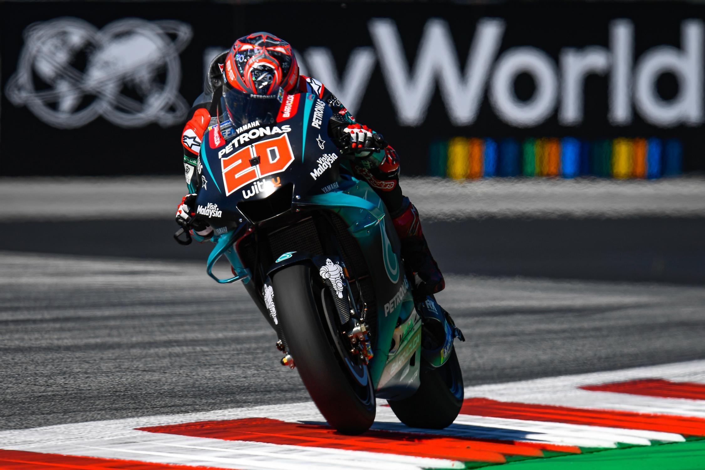MOTO GP : GRAND PRIX DE THAÏLANDE DU 4 AU 6 OCTOBRE 2019 Fabio-quartararo-autriche-motogp-2019