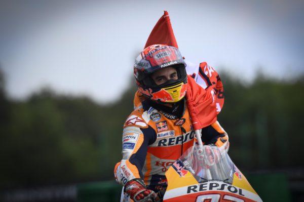 MOTO GP : GRAND PRIX DE THAÏLANDE DU 4 AU 6 OCTOBRE 2019 Marc-marquez-brno-motogp-2019-celebration-600x399