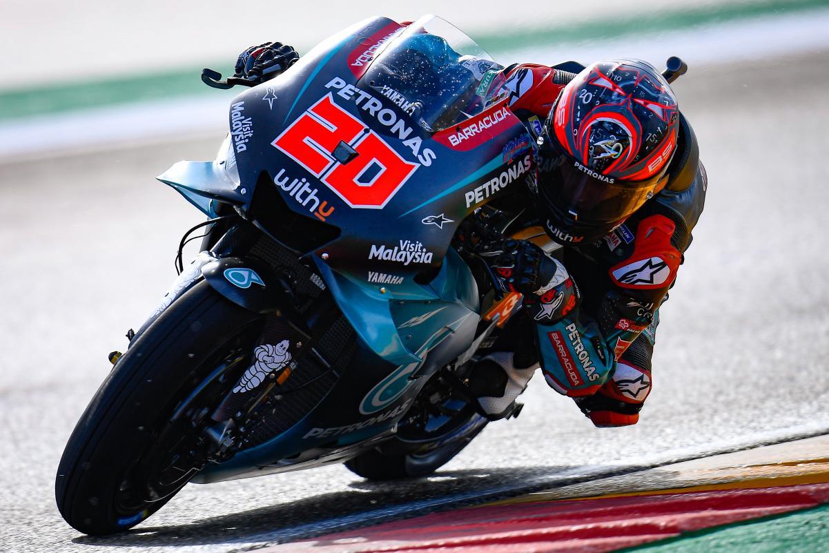 MOTO GP : GRAND PRIX DE THAÏLANDE DU 4 AU 6 OCTOBRE 2019 Fabio-quartararo-aragon-motogp-2019-1