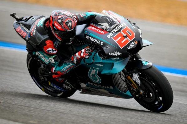 MOTO GP : GRAND PRIX DE THAÏLANDE DU 4 AU 6 OCTOBRE 2019 Fabio-quartararo-thailande-motogp-2019-600x399