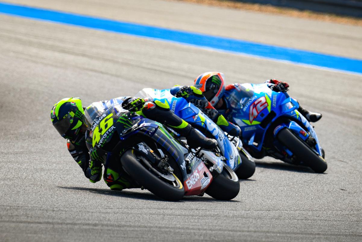 MOTO GP : GRAND PRIX DE THAÏLANDE DU 4 AU 6 OCTOBRE 2019 Rossi-thailande-motogp-2019