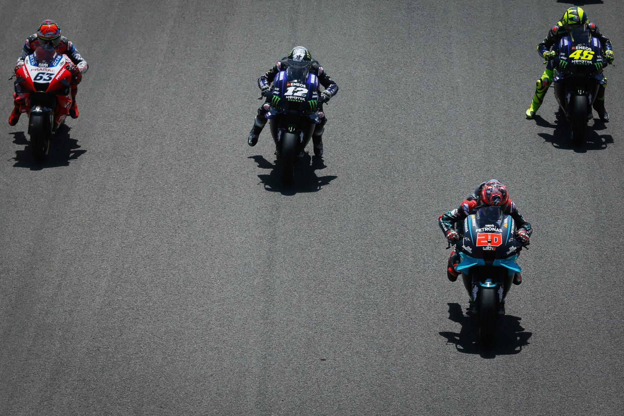 Moto GP: Quartararo vole en Rép. Tchèque