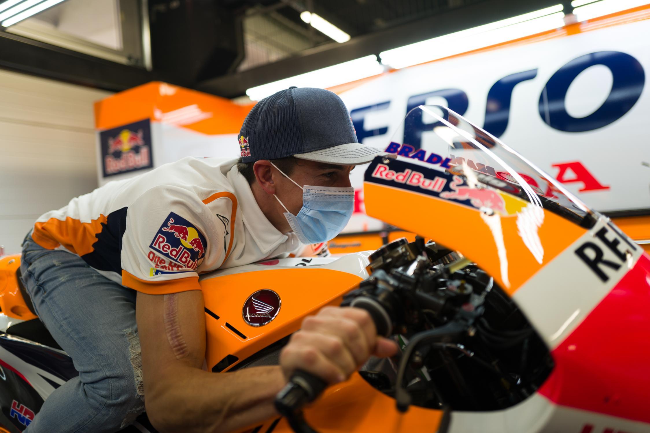 Marc Marquez opéré une troisième fois de l'humérus – GP Inside