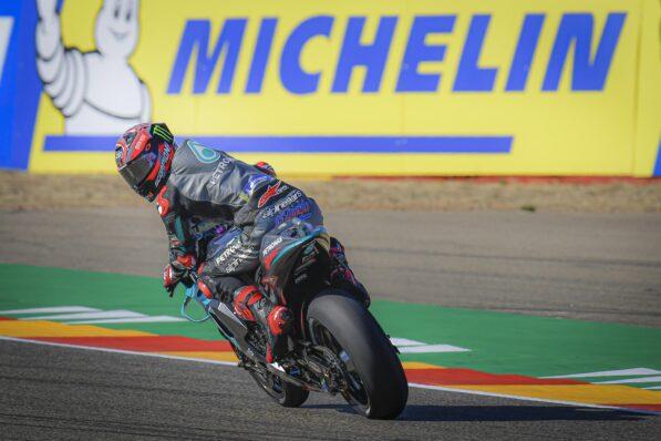 Aragon, Quartararo (18e) : « L'avant était incontrôlable » – GP Inside