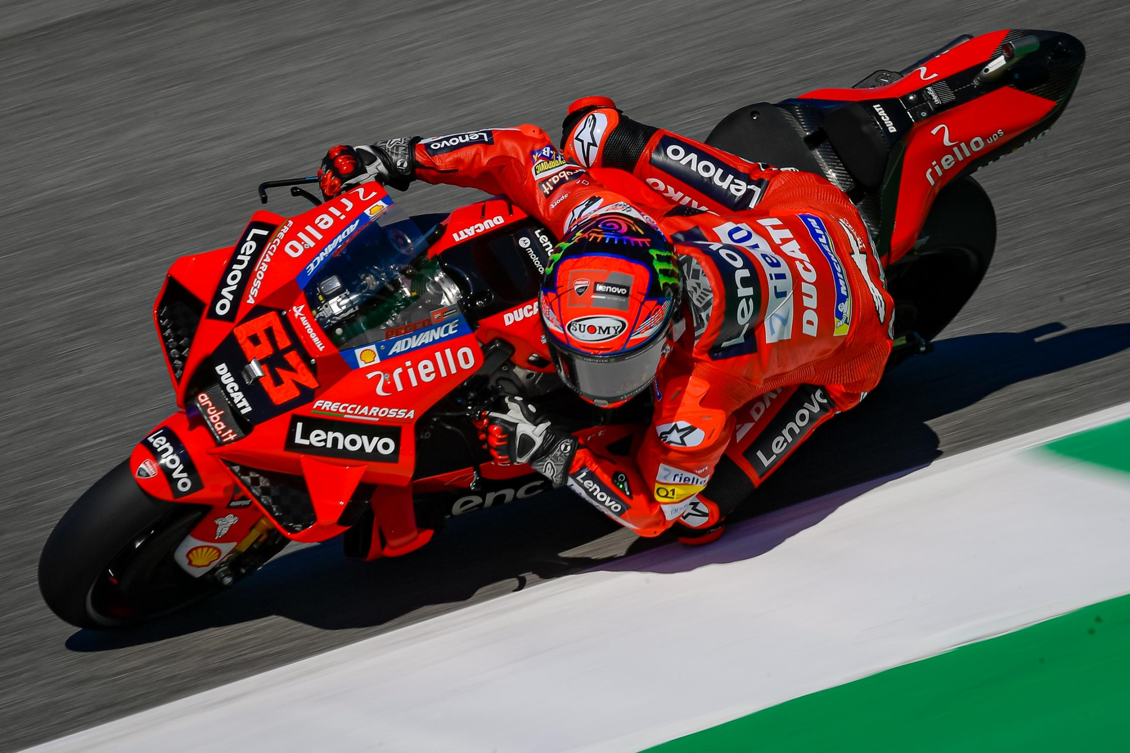 MOTO GRAND PRIX D' ITALIE Francesco-bagnaia-mugello-motogp-2021