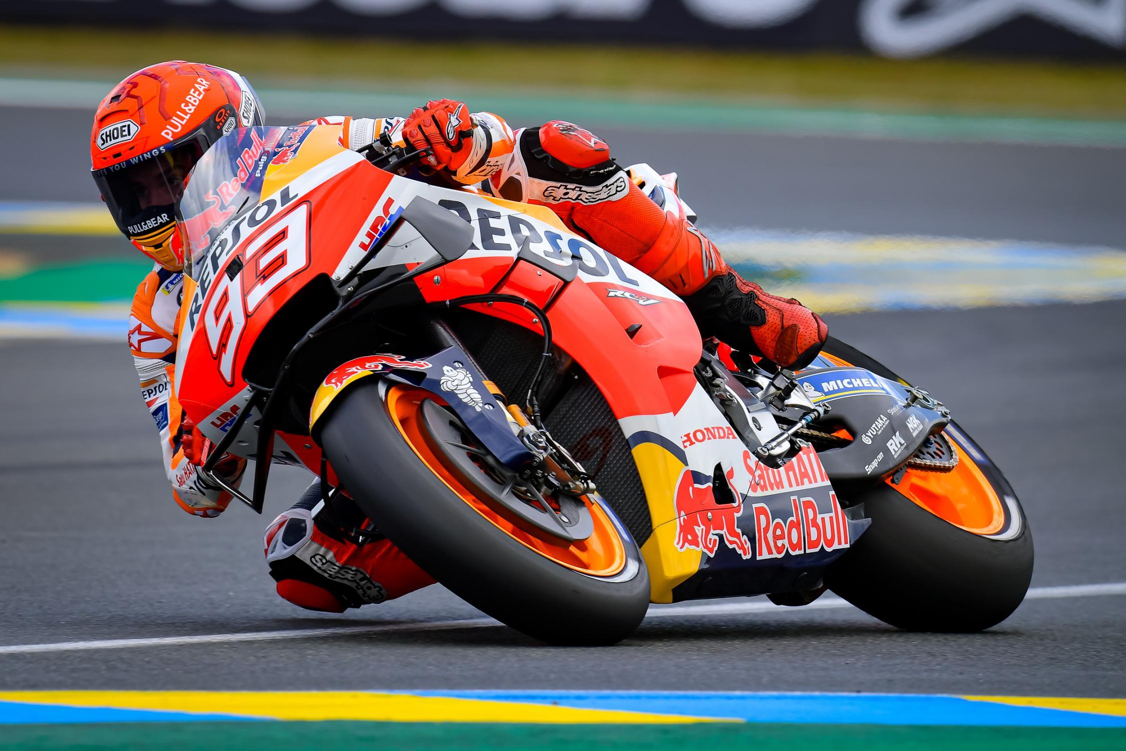 MOTO GRAND PRIX DE FRANCE Marc-marquez-lemans-motogp-2021-1
